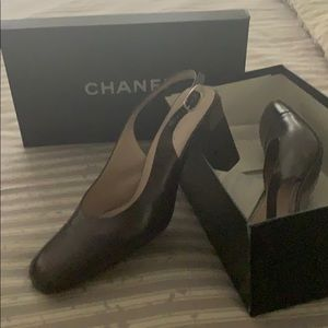 Designer Chanel shoes